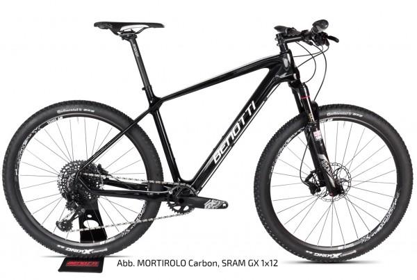 MORTIROLO Carbon 27.5, Shimano XT 2x11